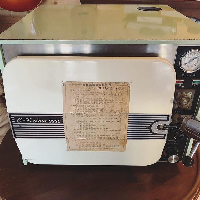 古い滅菌器を買取しました。#滅菌器