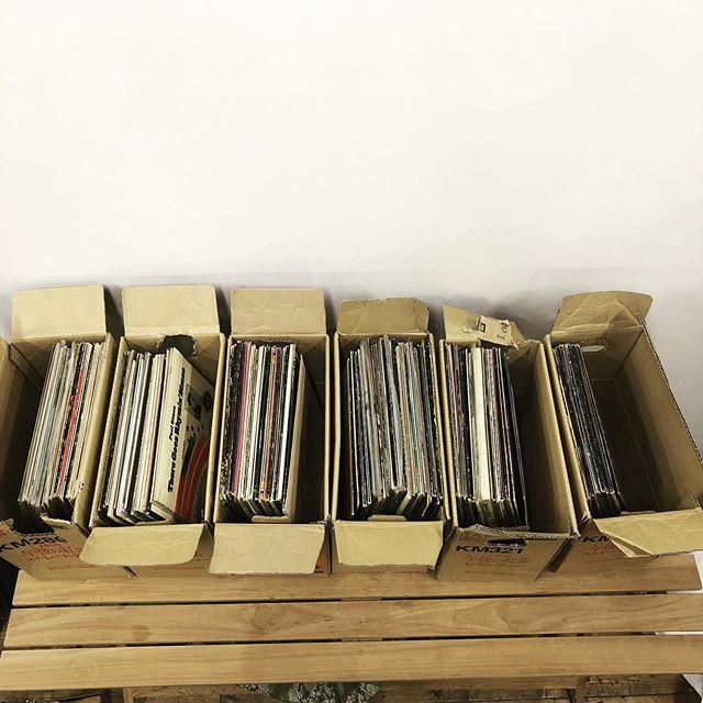 レコードを大量買取致しました。日美輝ではレコードの買取を行なっております。押入れや倉庫に眠っているレコードがありましたら是非、日美輝へお申し付けください。#レコード #不用品 #買取